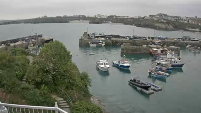 View Newquay Harbour