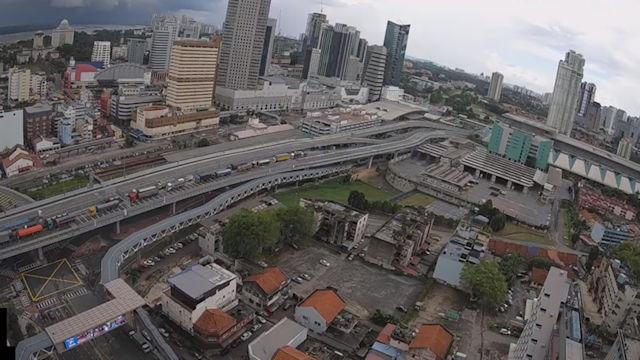 View Johor Bahru Cityscape